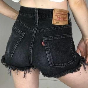 Vintage Levi's 501 Cutoff Shorts Size 28